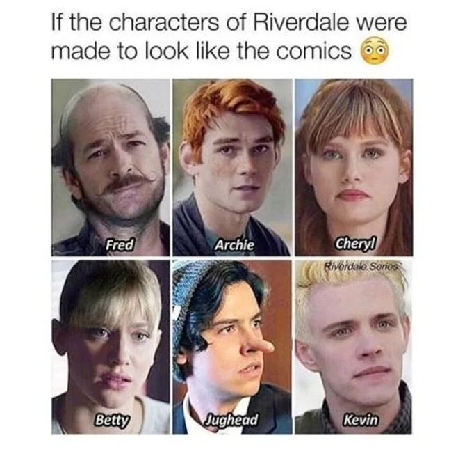 lively riverdale memes