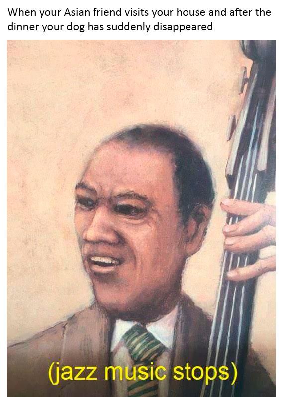 rib-tickling Asian memes