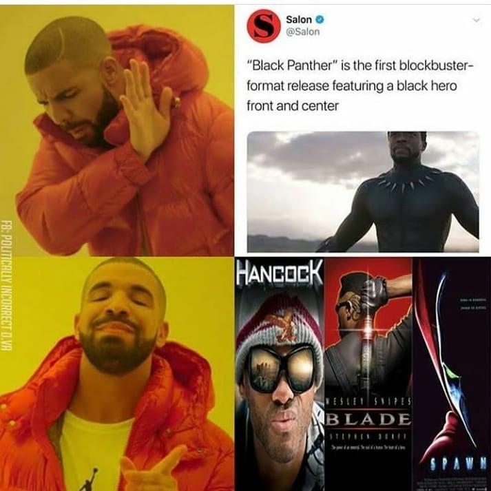 rib-tickling Black panther memes