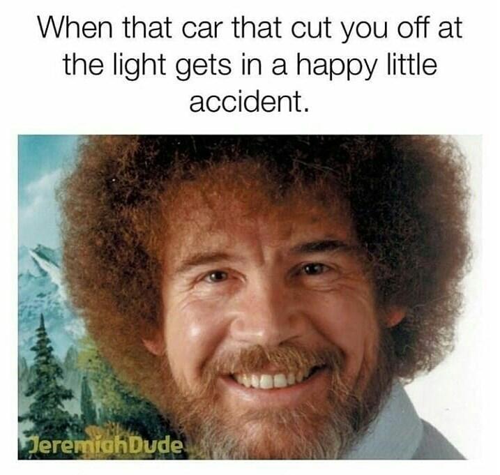 rib-tickling bob ross memes