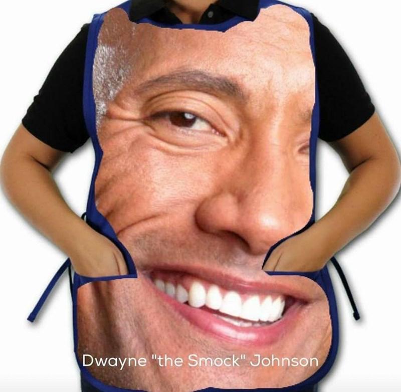 "sparkling Dwayne Johnson ""The Rock"" memes"