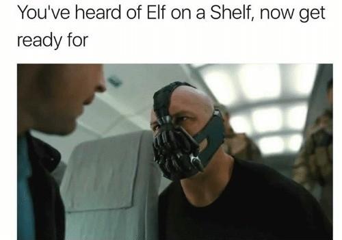 sparkling elf on the shelf memes