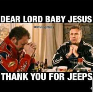 sparkling jeep memes