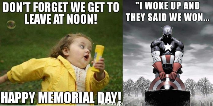 100+ Memorial Day Memes That Celebrates Freedom and Nation's Sprit