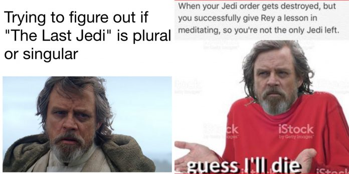 100+ The Last Jedi Memes Based On The Star Wars Series