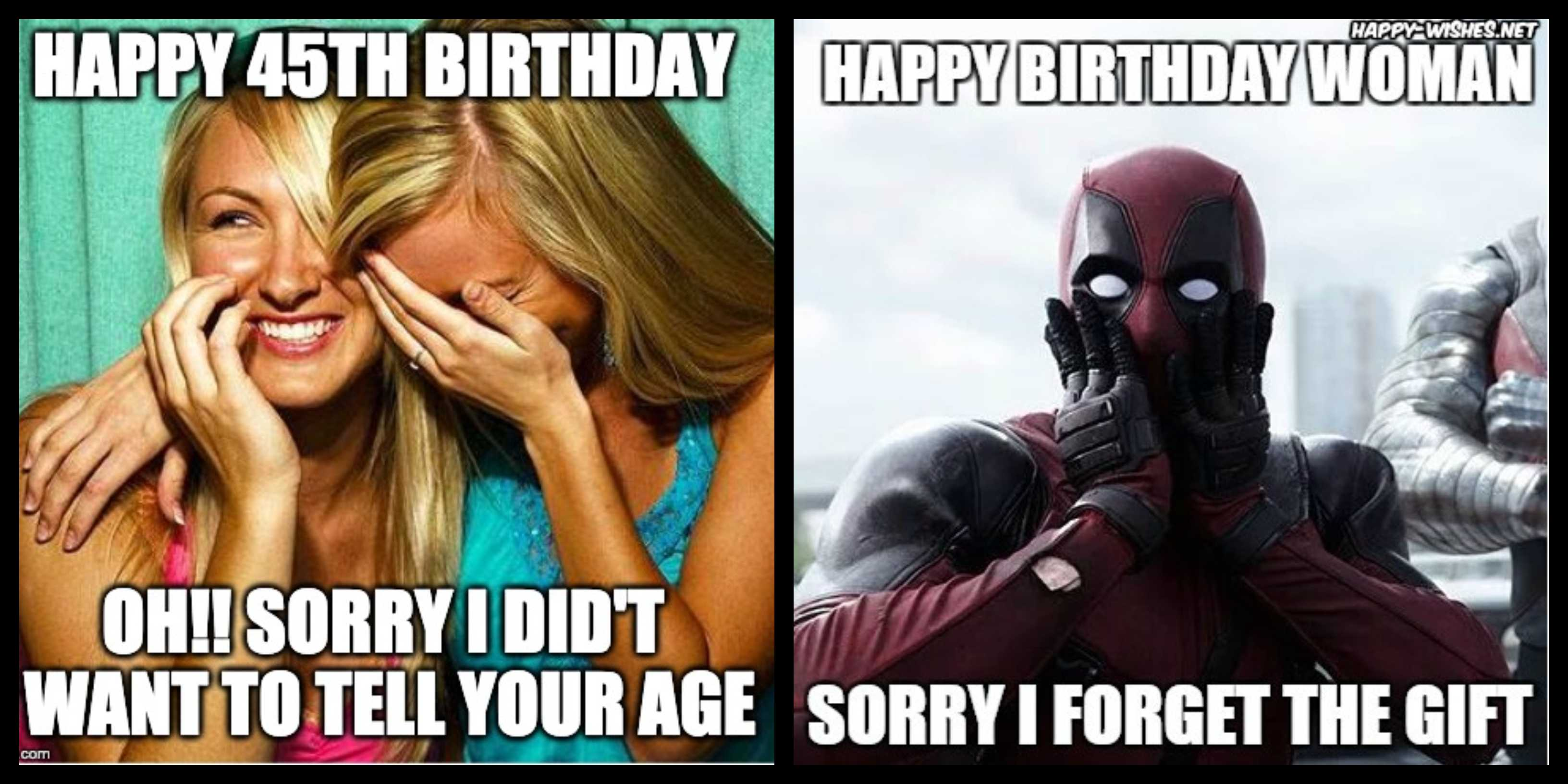 130+ Birthday Memes For Women For An Ever Charming Feel