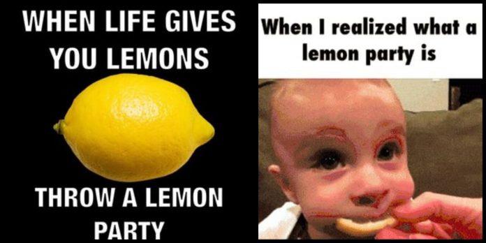 60+ Lemon Party Memes That Are So Lemony
