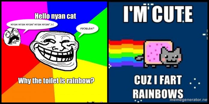 64+ Nyan Nyan Cat Memes For The Feline Love In You