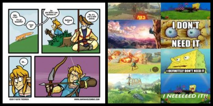 65+ Breath Of The Wild Memes For The Explorer In You