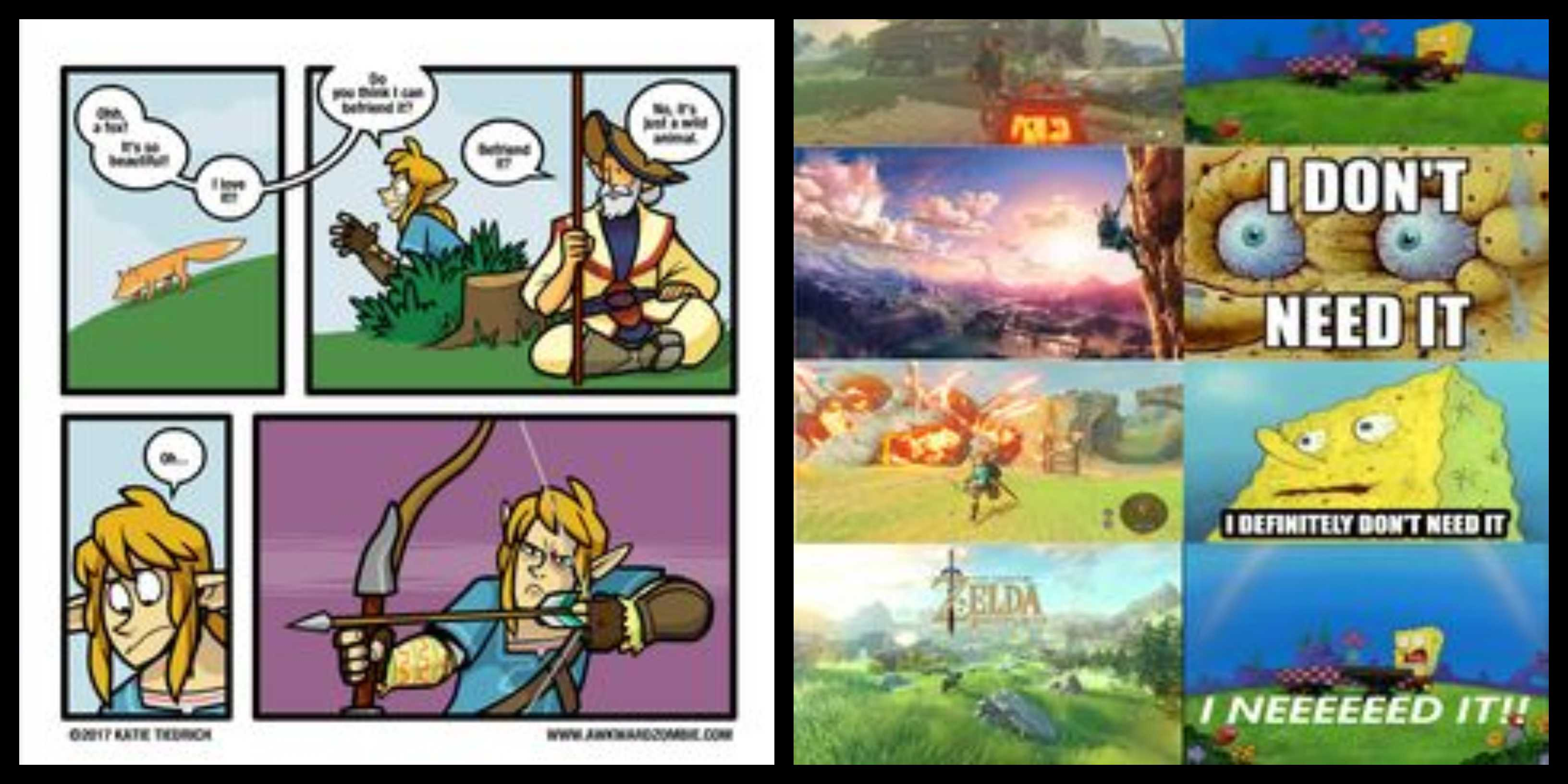 65 Breath Of The Wild Memes For The Explorer In You Geeks