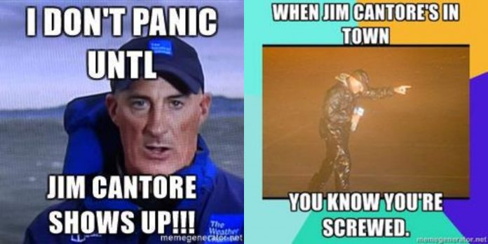 81+ Jim Cantore Memes That Will Remind You About Weather And Seasons