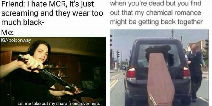 90+ MCR Memes For That Nostalgia Feel