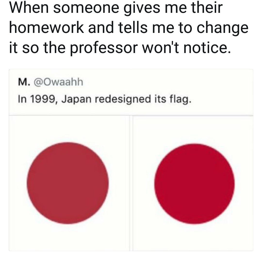 Funny homework meme