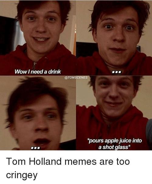 Funny tom holland memes
