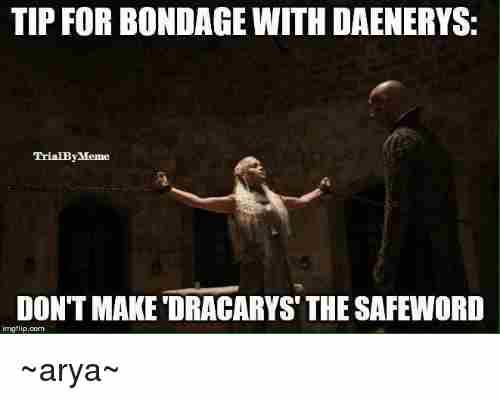 Hilarious bondage meme