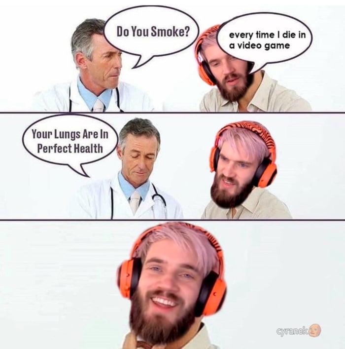 Hilarious pewdiepie memes