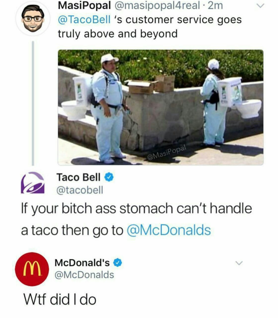 Hilarious taco meme