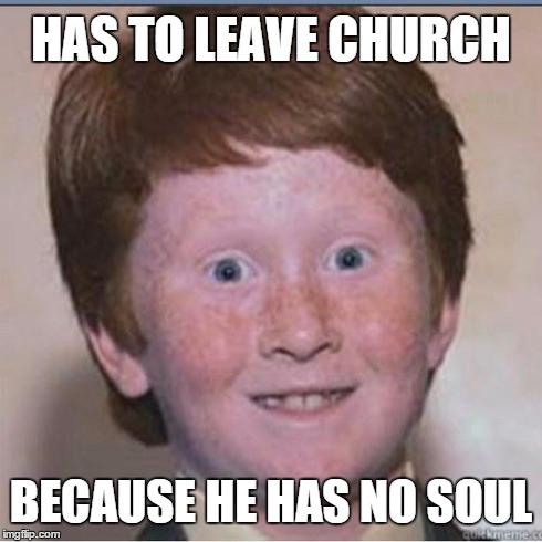 amusing ginger meme
