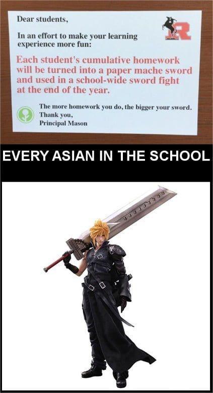 amusing homework meme