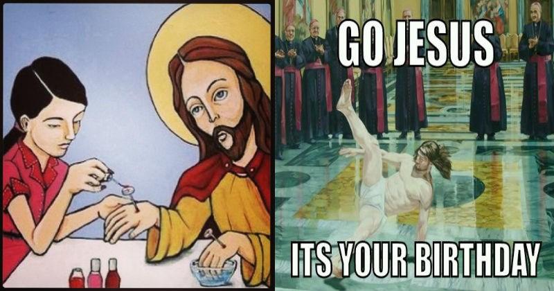 amusing jesus meme