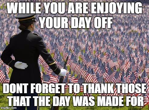 amusing memorial day meme