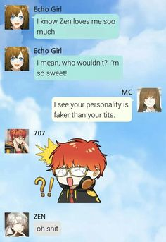 amusing mystic messenger memes