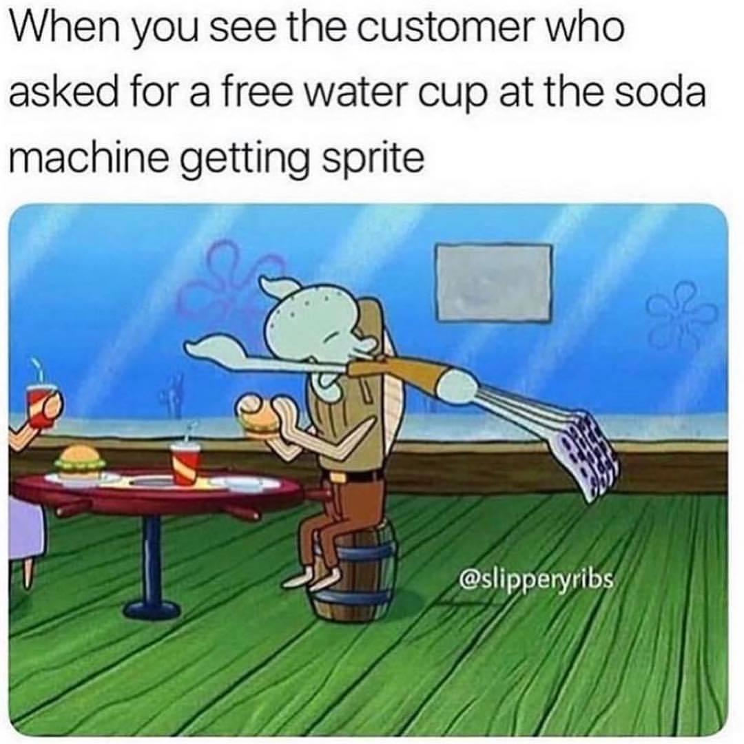 amusing squidward meme