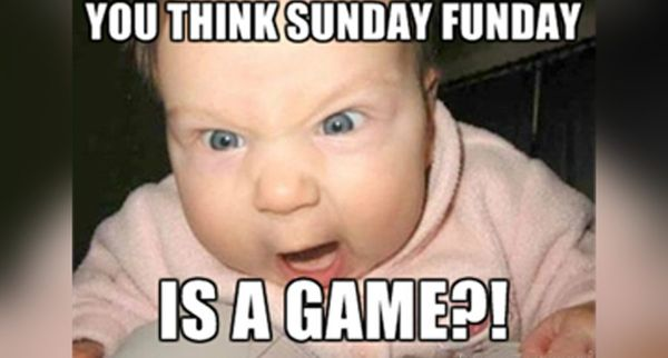amusing sunday meme