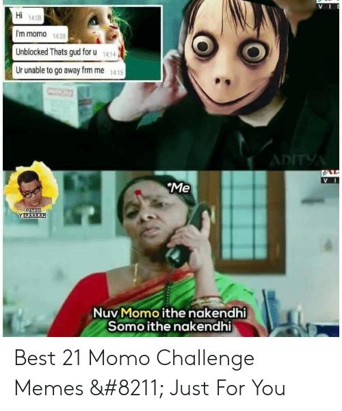 animated Momo Challenge memes