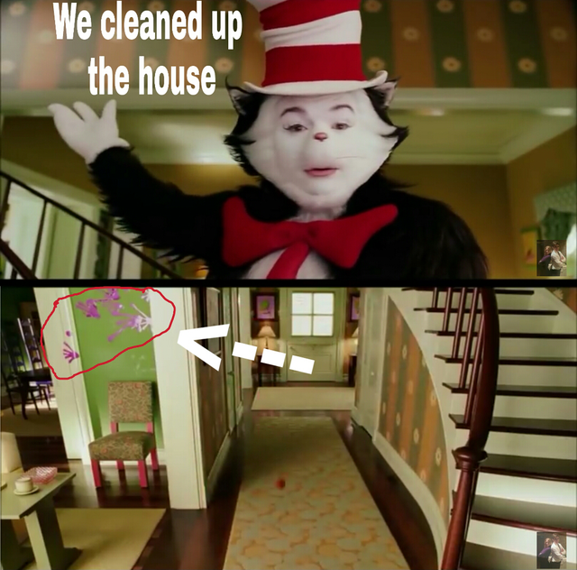animated cat in the hat meme