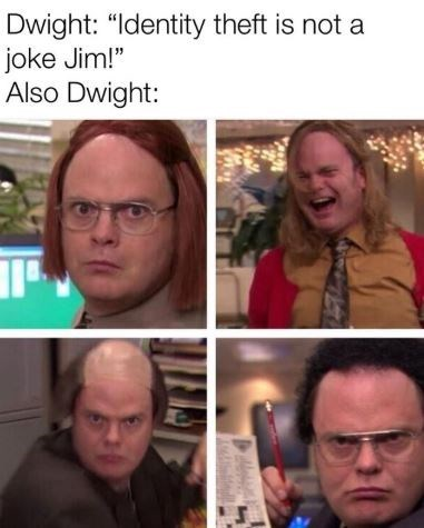 animated dwight schrute memes