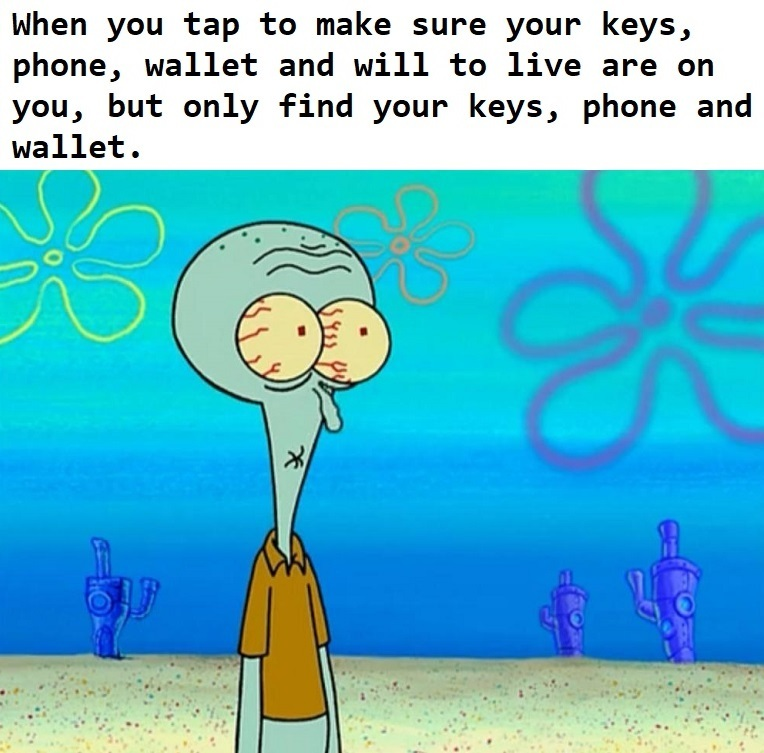animated squidward meme
