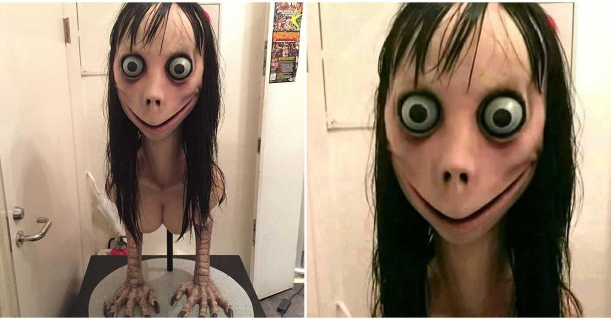 cheerful Momo Challenge memes