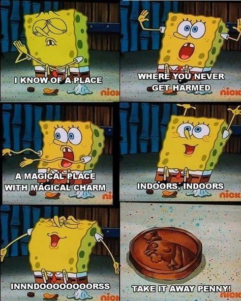 cheerful dank spongebob memes