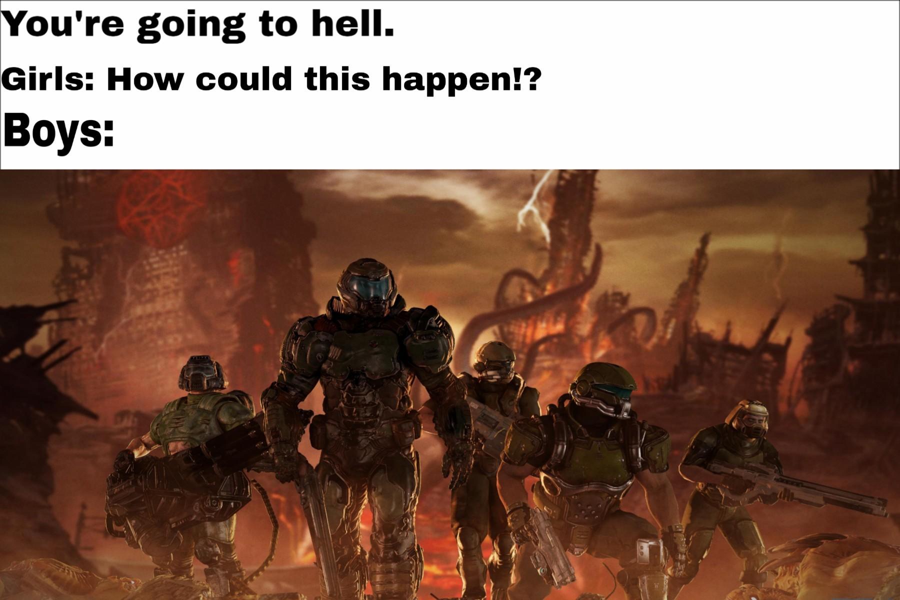 cheerful doom memes