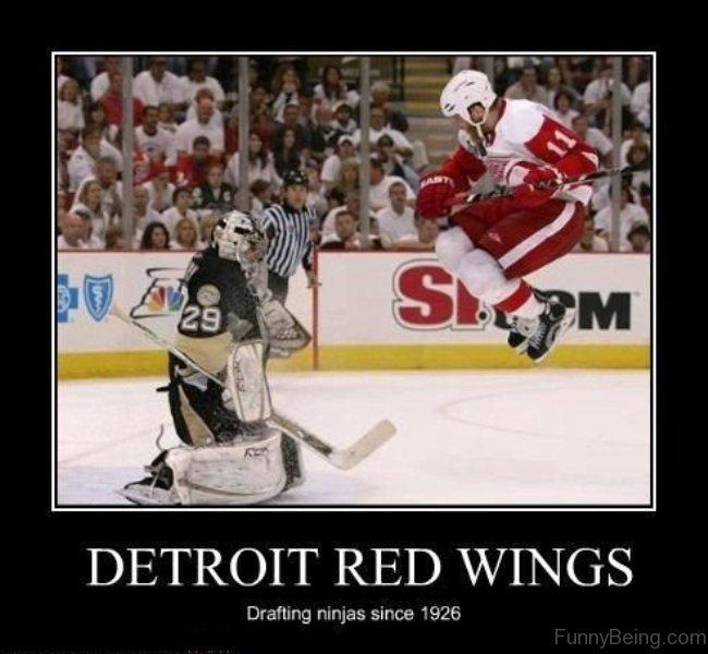 cheerful hockey memes
