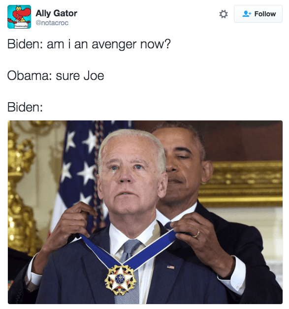 cheerful joe biden memes