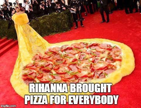 cheerful pizza memes