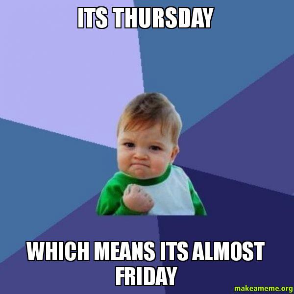 cheerful thursday meme