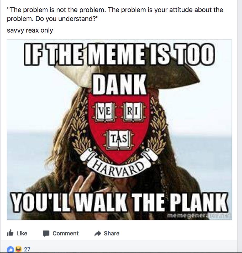 cheerfull harvard memes