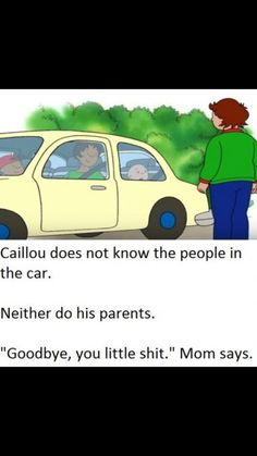 chucklesome caillou memes