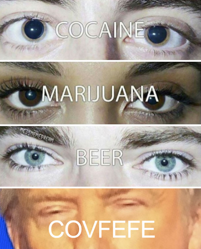 chucklesome covfefe meme