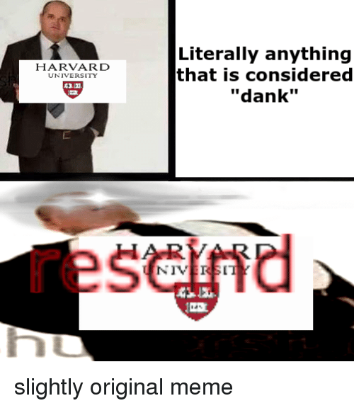 chucklesome harvard memes
