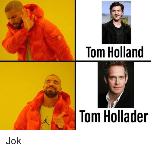 chucklesome tom holland memes