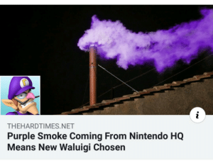 cheerfull waluigi memes