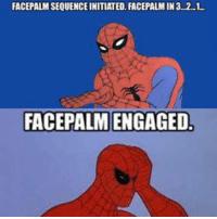 comic Facepalm memes
