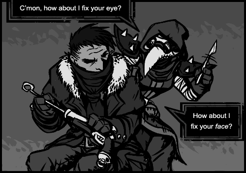 comic darkest dungeon memes