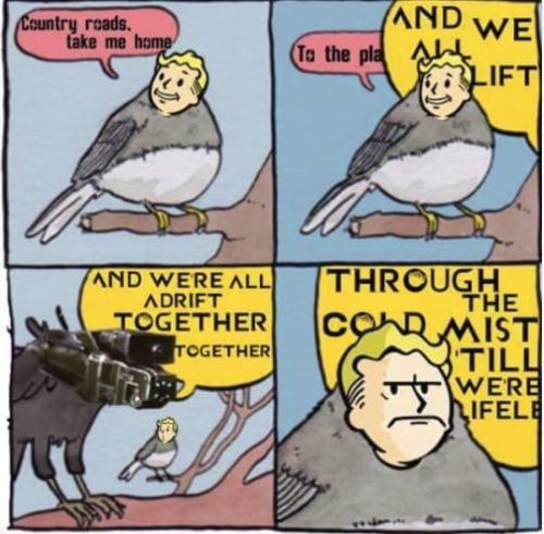 comic fallout 76 memes