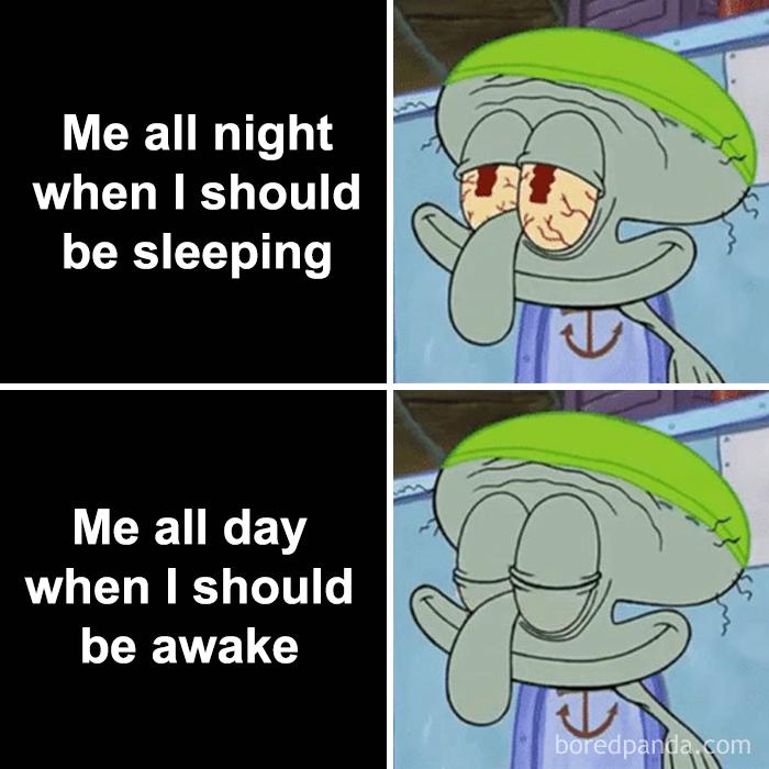 comic sleep meme