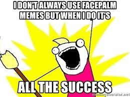 comical Facepalm memes